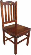 Colonial style chair R580 with green tile - Model 1