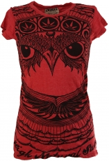 Sure T-Shirt Owl - red