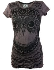Sure T-Shirt Owl - taupe