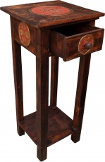 Telephone table, hall table - Japan brown