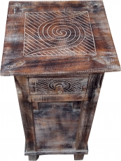 Telephone table, hall table - spiral