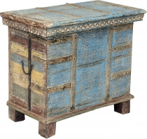 Wooden chest+with+fittings%C3%A4gen+-+model+2