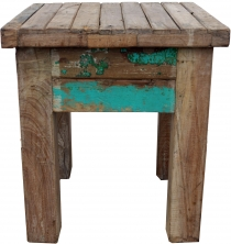 Vintage coffee table, coffee table made of recycled wood - model ..