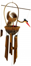 Exotic bamboo sound play - bird wind chime