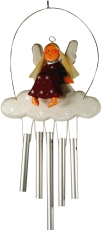 Christmas wind chime, sound play guardian angel