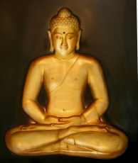3-D Buddha Hologram Image - Model 9