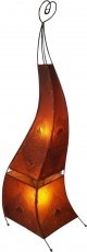 Henna lamp, leather floor lamp/floor lamp - Mauretania 118 cm