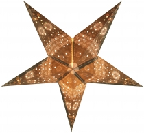 Foldable Advent Starlight Paper Star, Christmas Star Triton