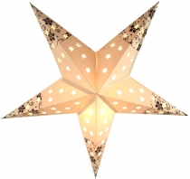 Foldable Advent Starlight Paper Star, Christmas Star Vineta