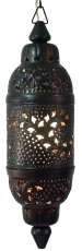 Metal ceiling lamp in Moroccan design, oriental ceiling lamp - De..