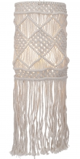 Wall lamp/wall lamp, handmade in Bali from macramé - model Suleil..