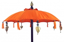 Ceremonial Umbrella, Asian Decorative Umbrella - orange