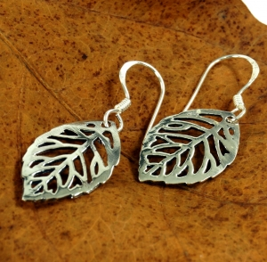 Ethno Silver Earrings `Spring`