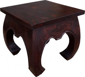 Opium table floor table from India rectangular