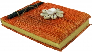 Small Notebook Shell - orange