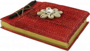 Small Notebook Shell - red