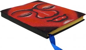 Notebook, Diary Budha - red