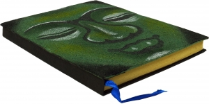 Notebook, Diary Budha - green