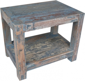 Antique blue coffee table -1 (JH7-112)
