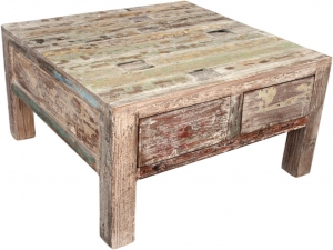 Antique white coffee table JH8-641