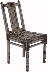 Antique white chair - model 10