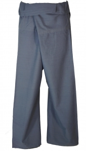 Thai fisherman trousers made of cotton, wrap trousers, yoga trous..