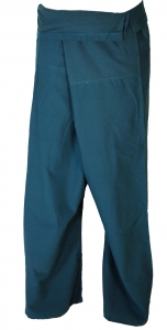 Cotton fishing pants, wrapping pants yoga pants from Nepal - petr..