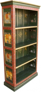 Painted bookcase `Elefant` (JH7-65)