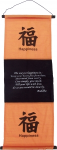 Feng Shui Wandbehang `happiness-orange`