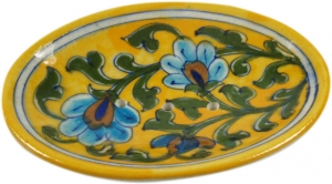 Hand-painted ceramic soap dish no. 2