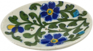Hand-painted ceramic soap dish no. 5