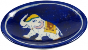 Hand-painted ceramic soap dish no. 9