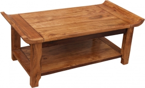 Coffee table, coffee table with shelf `Orient` R 1291