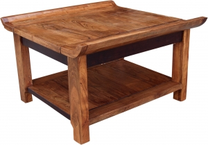 Coffee table, coffee table with shelf `Orient` R 1291 A