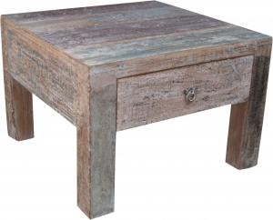 Coffee table, coffee table with drawer antique white (JH0-218)