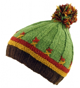 Children`s cap bobble cap