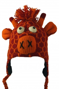 Child cap giraffe