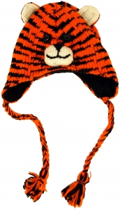Child cap tiger