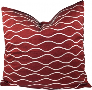 Retro cushion cover 1 - red