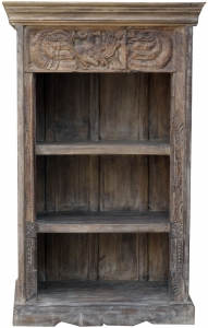 Small bookcase, shelf with decorations
