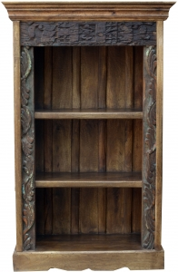Small shelf made of old wood, decorated with carvings JH17-034
