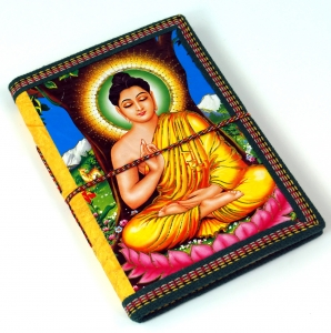 Notebook, diary, writing book Maharaja Buddha