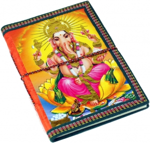 Notebook, diary, writing book Maharaja Ganesha