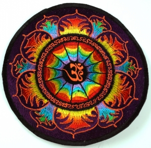 Patches (Aufnäher), Lotus Om