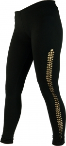 Psytrance Damen Leggings, Stretch Hose für Frauen, Yogahose - sch..