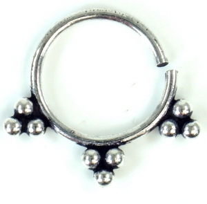 Septum Ring, Nasenring, Nasenpiercing