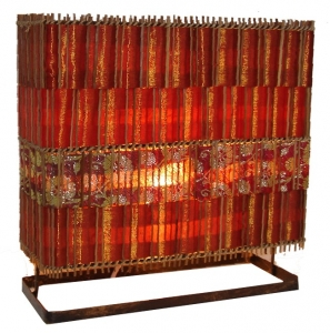 Table lamp/table lamp Luzerna - in Bali handmade exotic mood lamp