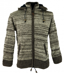 Cardigan Wool Jacket Nepal Jacket