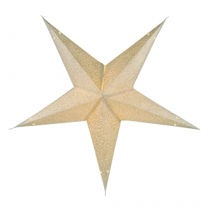 Foldable Advent Paper Star, Poinsettia Abacus