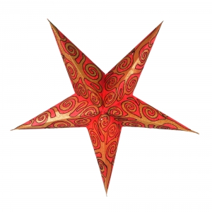 Foldable Advent Paper Star, Christmas Star Artemis